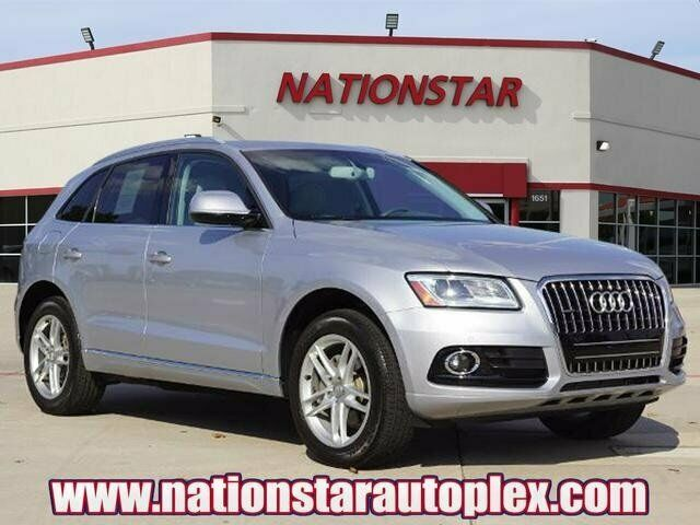 2016 Audi Q5 (Silver/Leather)