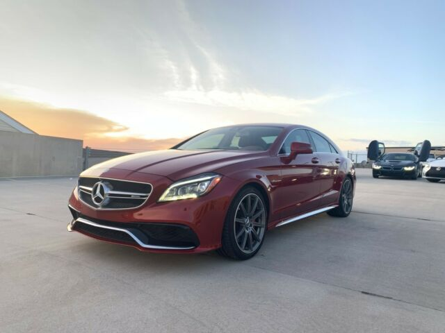 2016 Mercedes-Benz CLS-Class (Burgundy/Brown)