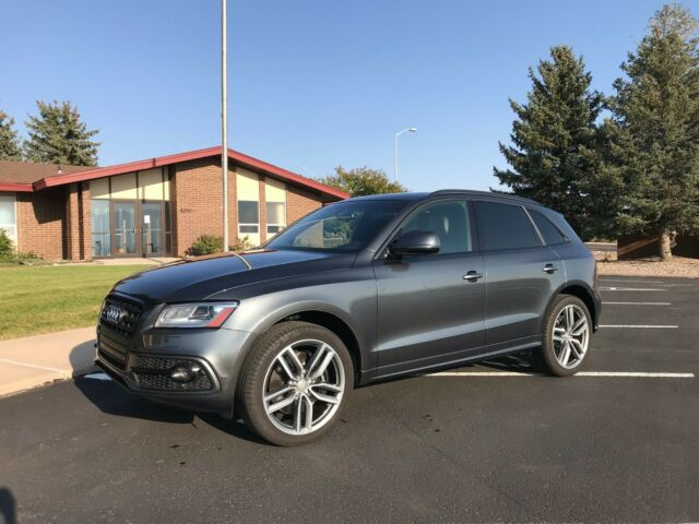 2016 Audi SQ5 (Gray/Black)
