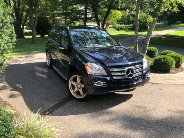 2008 Mercedes-Benz GL550 AMG (Blue/Tan)