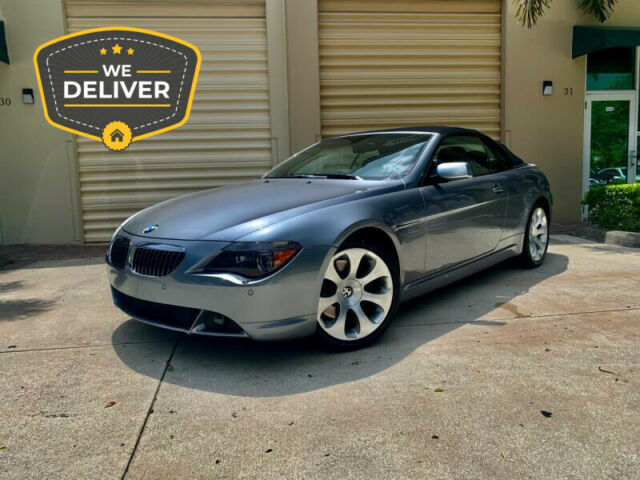 2007 BMW 6-Series (Gray/Black)