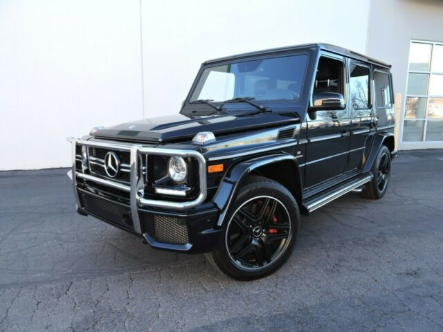 2017 Mercedes-Benz G-Class (OBSIDIAN BLACK METALLIC/DESIGNO NAPPA BLACK LEATHER)
