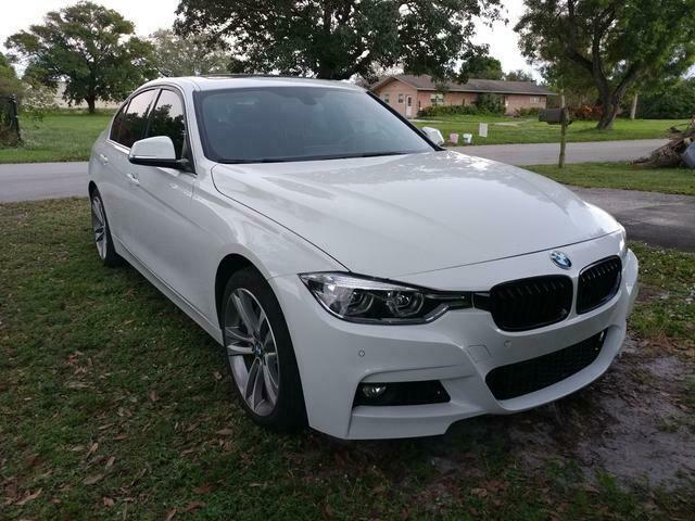 2017 BMW 3-Series (White/Black)