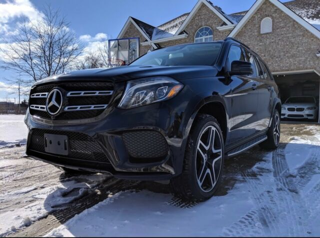 2018 Mercedes-Benz GL-Class (Black/Brown)
