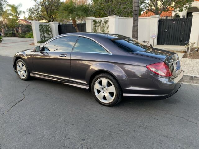 2007 Mercedes-Benz CL-Class (GREY/Tan)