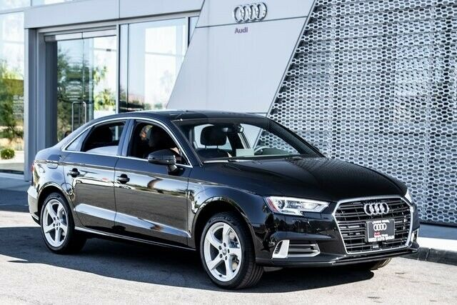 2019 Audi A3 (Black/Brown)