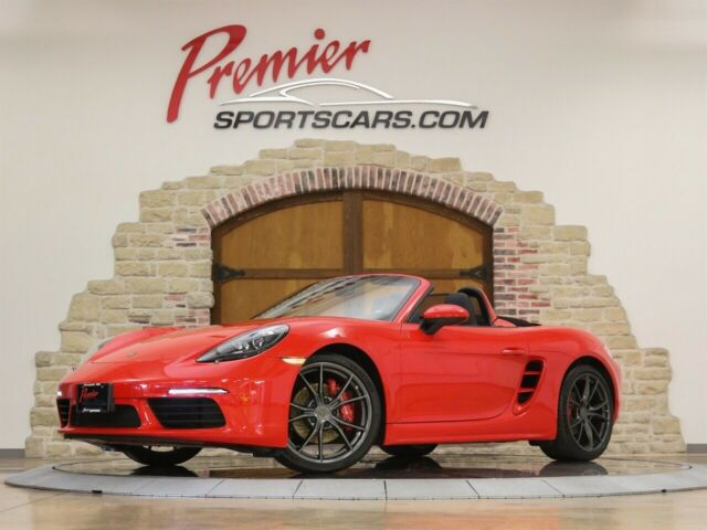 2017 Porsche Boxster (Red/Black)