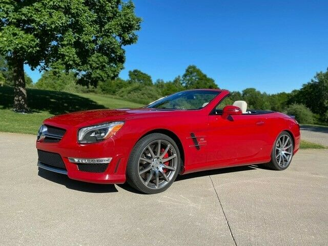 2013 Mercedes-Benz SL-Class (Red/White)