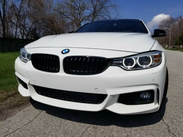 2016 BMW 4-Series (Alpine White/Coral Red)