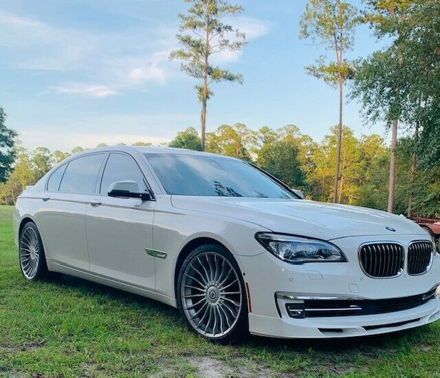 2014 BMW 7-Series (White/White)