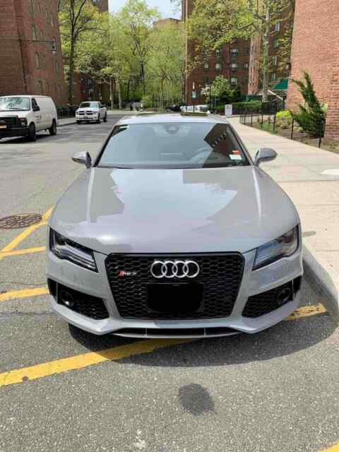 2014 Audi RS7 (Grey/Black)