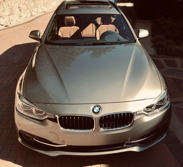 2017 BMW 328d xDrive (Silver/Brown)