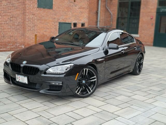 2013 BMW 6-Series (Black/Brown)