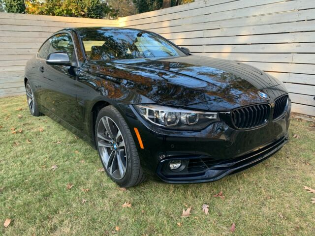 2020 BMW 4-Series (Black/Black)