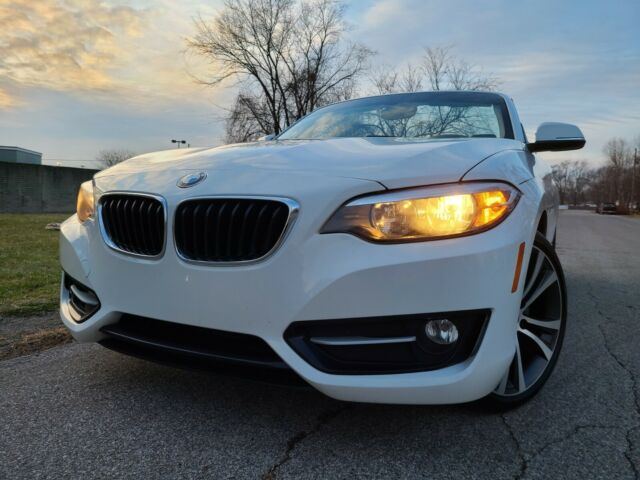 2016 BMW 2-Series (Alpine White/Black)
