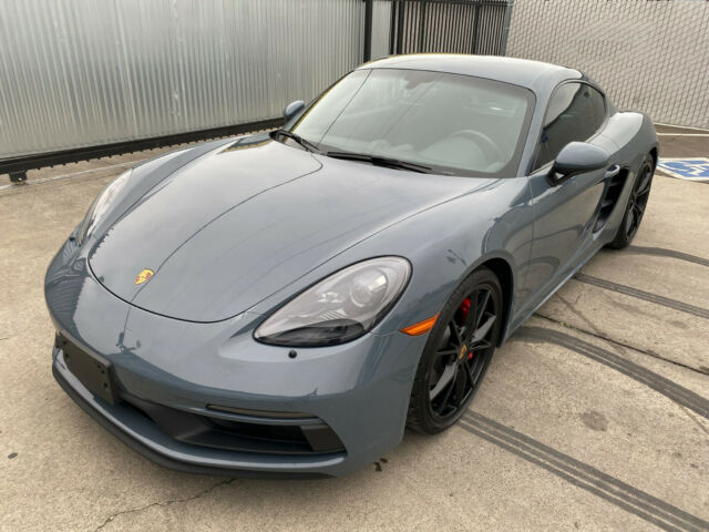 2018 Porsche Cayman (Graphite Blue Metallic/Black Alcantara)